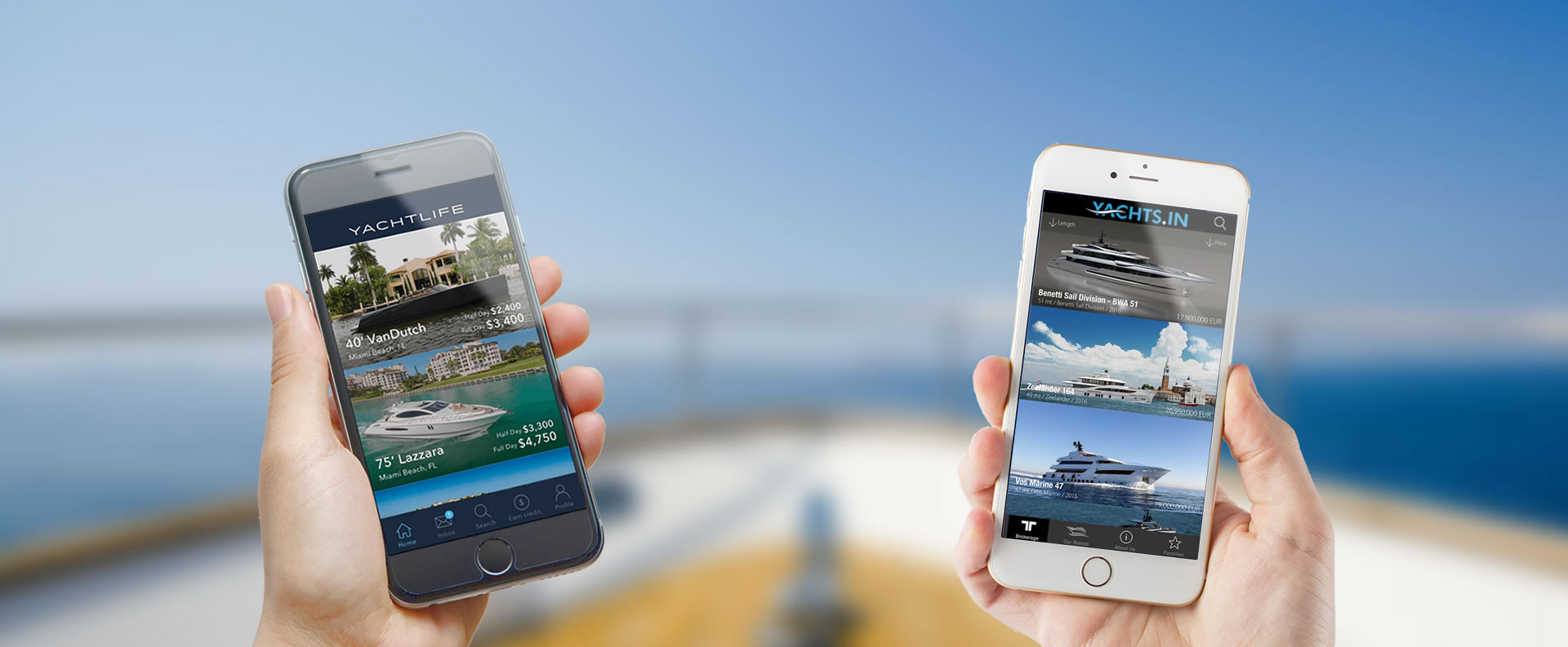 Nautique Yachting Mobile Apps